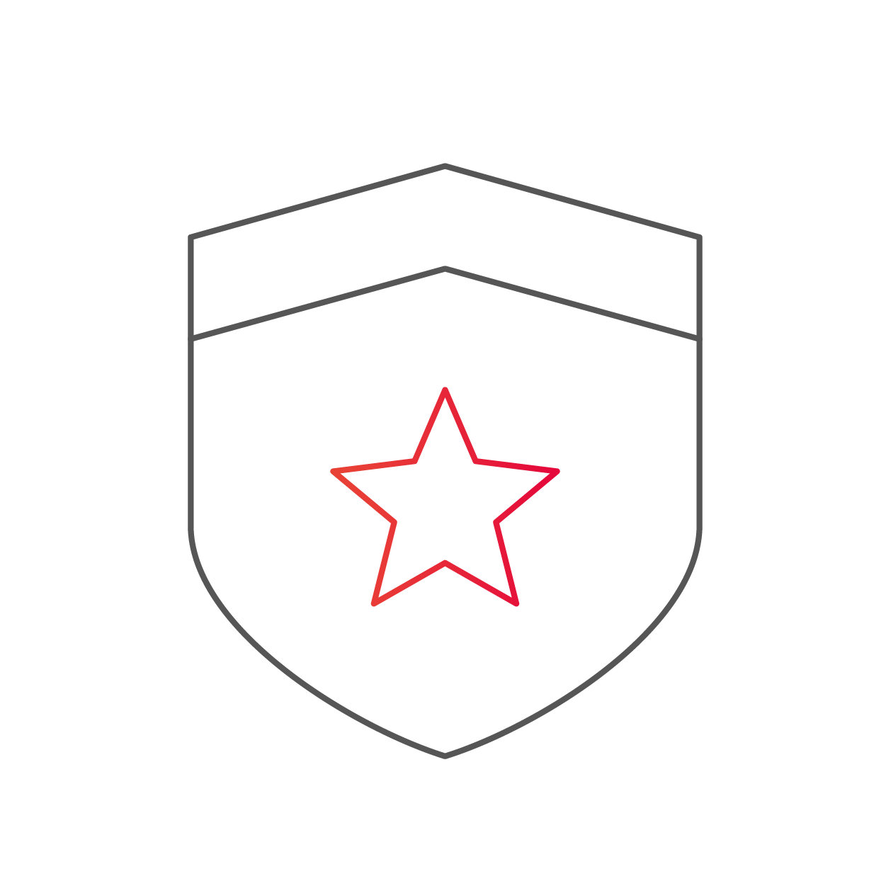 Shield with Star
